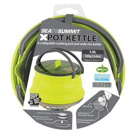Sea to Summit X-Pot Ketel 1,3L, lime